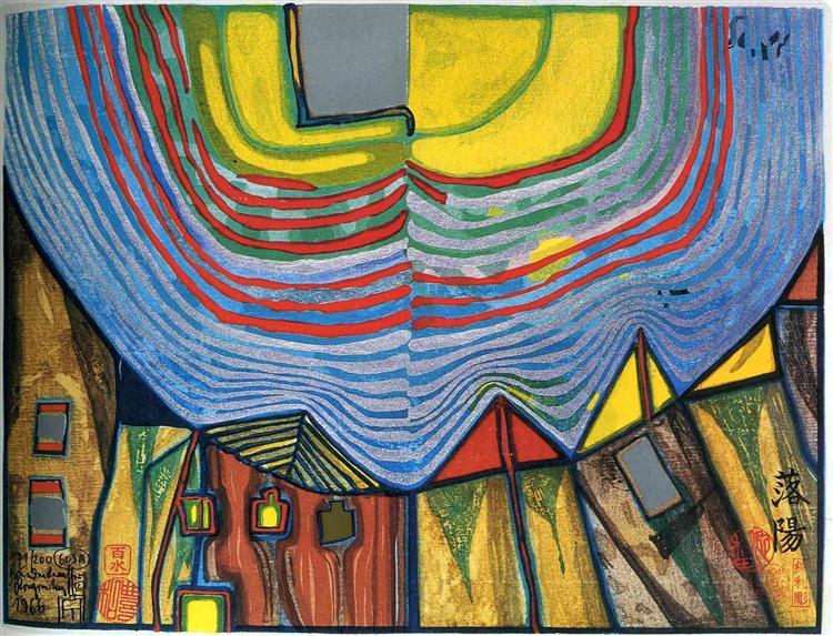 603A  Sunset, 1966 - 佛登斯列·汉德瓦萨