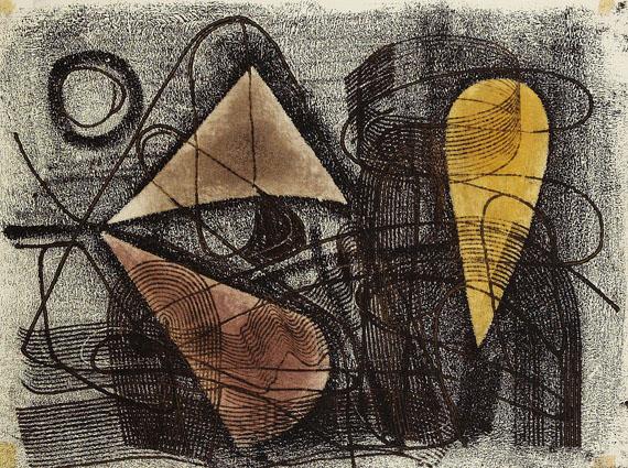Untitled, 1950 - Fritz Winter