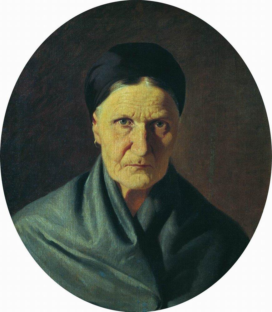 Portrait of the artist's mother, 1871