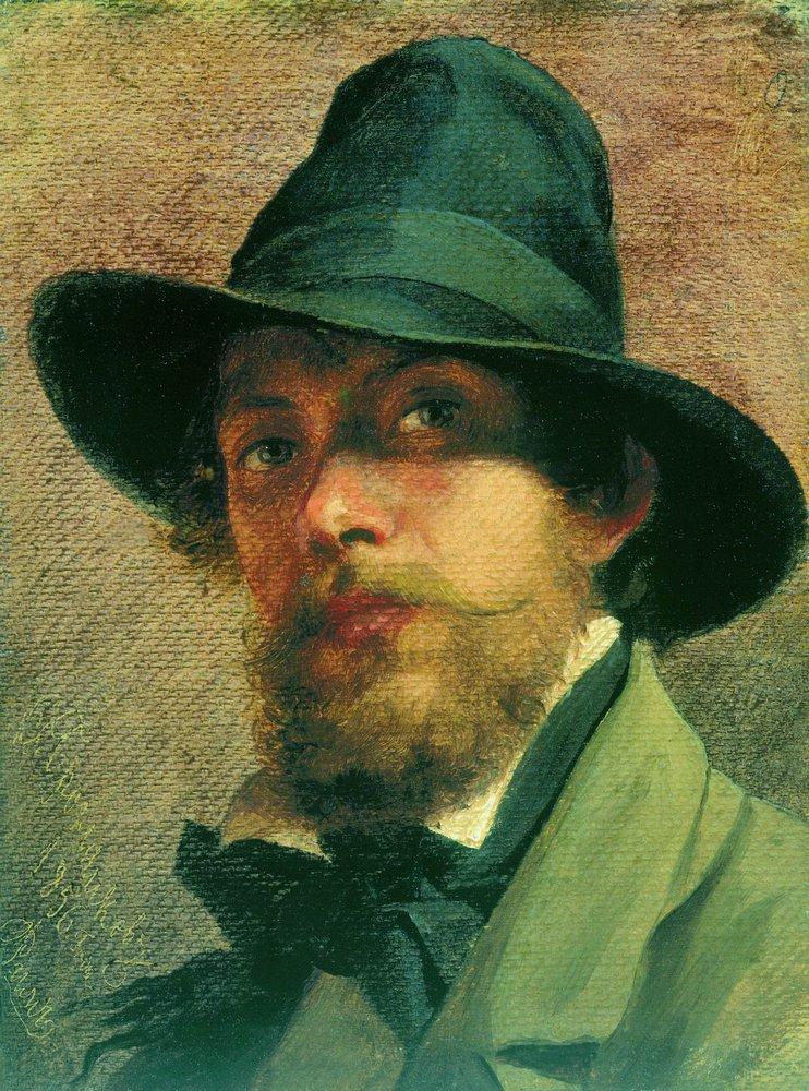 Self-portrait, 1856