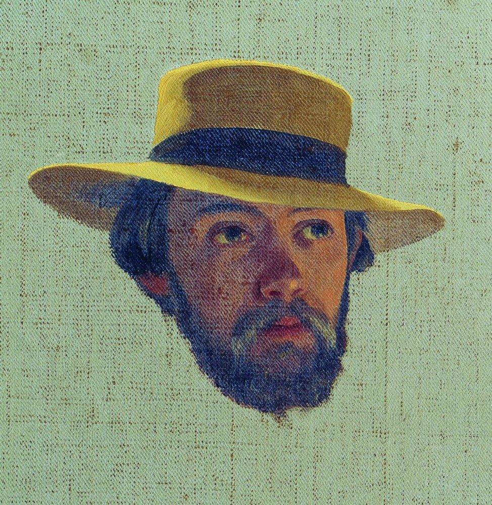 Self-portrait, 1858