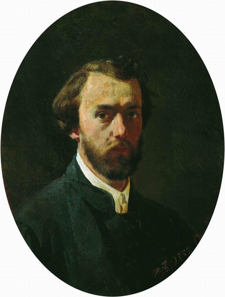 Self-portrait, 1859
