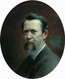 Self-portrait - Fyodor Bronnikov