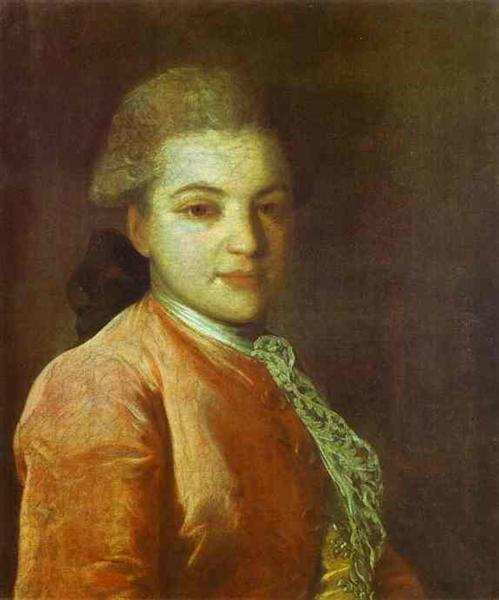 Portrait of Count Illarion Ivanovich Vorontsov, c.1770 - Fyodor Rokotov