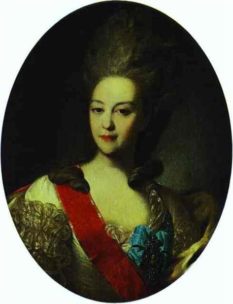 Portrait of Countess Ekaterina Orlova, 1779 - Fyodor Rokotov