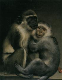 Abelard and Heloise - Gabriel von Max