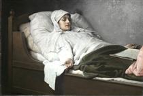 The Seeress of Prevorst - Gabriel von Max