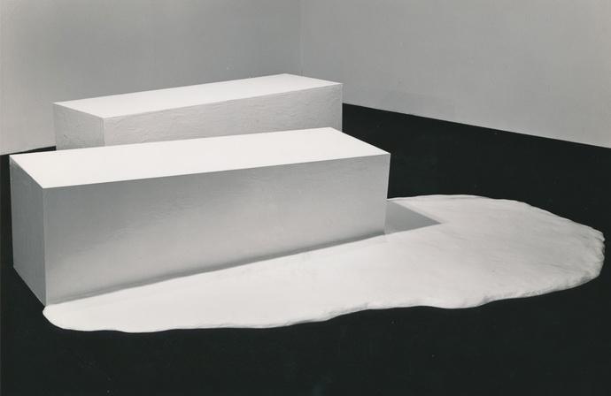 Melt Piece, 1967 - Gary Kuehn