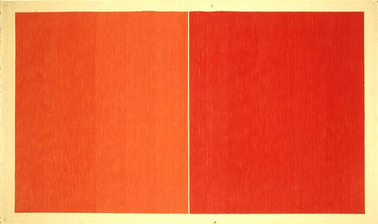 Red Baron, 1978 - Gene Davis