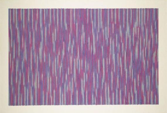 Red Picnic, 1984 - Gene Davis