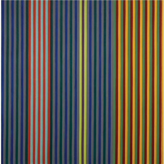 Split Beat, 1965 - Gene Davis