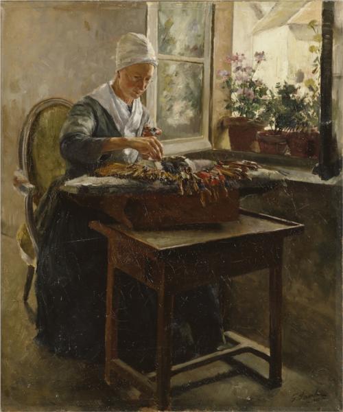 Spetsknypplerskan - Georg Pauli