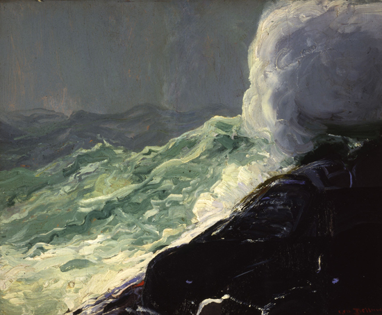 Churn and Break, 1913 - George Wesley Bellows