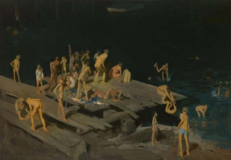 Forty-two Kids, 1907 - George Bellows