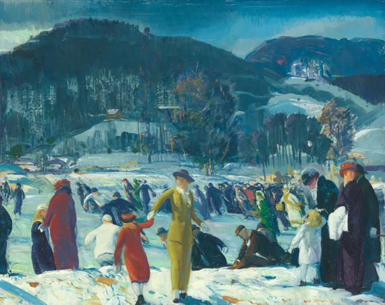 Love of Winter - George Bellows
