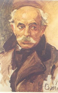 Portrait of Vasileios Hatzis, 1913 - George Bouzianis