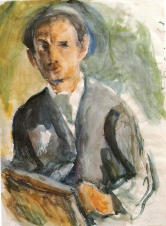 Self Portrait, 1926 - George Bouzianis
