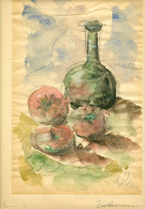 Still Life with Tomatoes and Pitcher, 1931