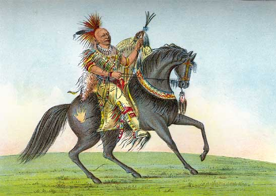 Kee-o-kuk (The Running Fox), 1839 - George Catlin