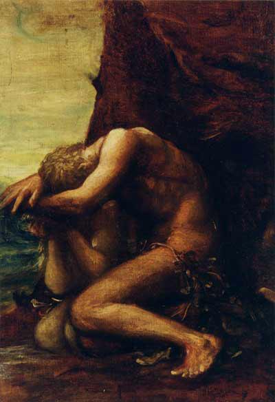 Adam and Eve, c.1865 - George Frederick Watts