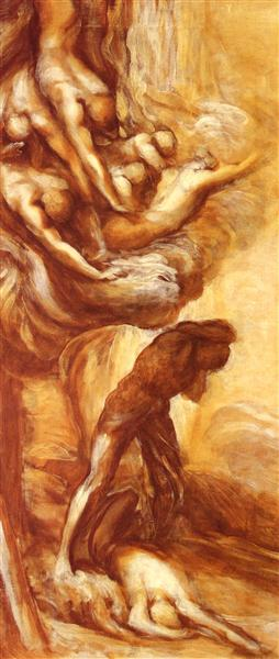 Denunciation Of Cain - George Frederick Watts