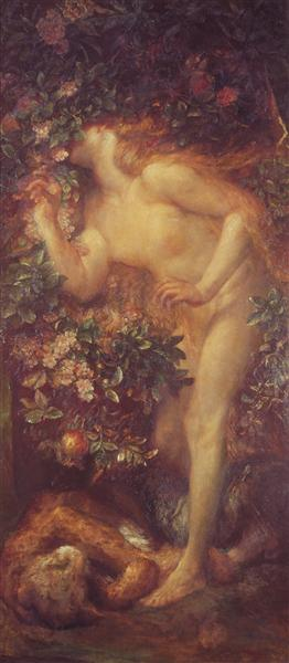 Eve Tempted - George Frederick Watts