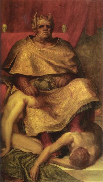 Mammon, 1884 - 1885 - George Frederick Watts