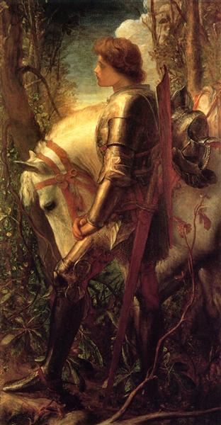Sir Galahad - George Frederick Watts