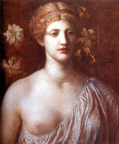 The Wife of Pygmalion - George Frederick Watts