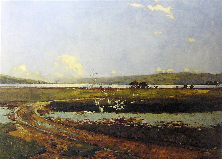 The head of the Holy Loch, 1882 - George Henry
