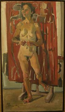 Standing Nude - George Mavroides