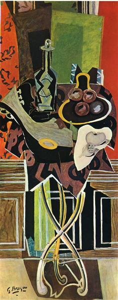 A Red Pedestal, 1939 - Georges Braque