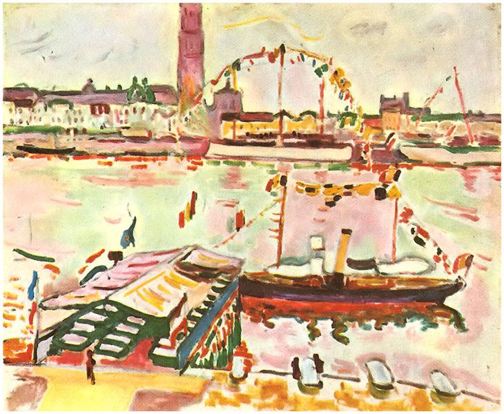 Antwerp Harbor, 1905 - Georges Braque