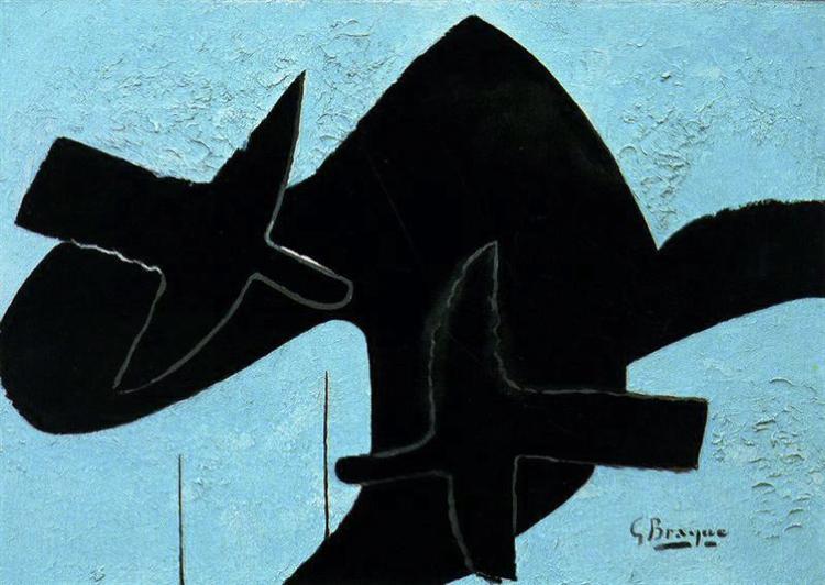 Birds, 1957 - Georges Braque