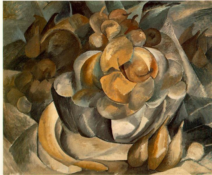 Fruit Dish, c.1908 - Georges Braque