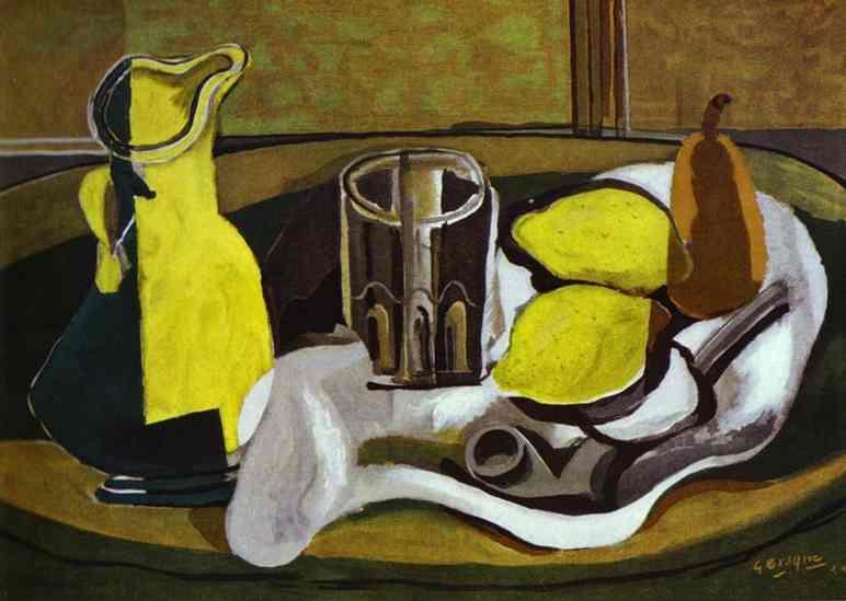 Zorz Brak ( Georges Braque ) - Page 2 Lemons-1929