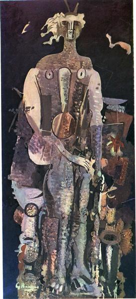 Night, 1951 - Georges Braque