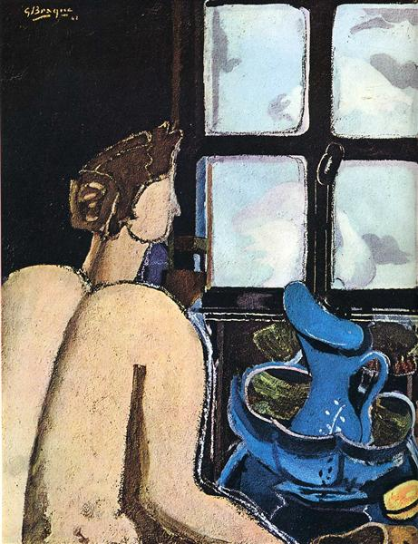 Woman with washstand, 1948 - Georges Braque