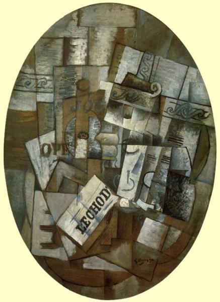 Pedestal Table, 1913 - Georges Braque