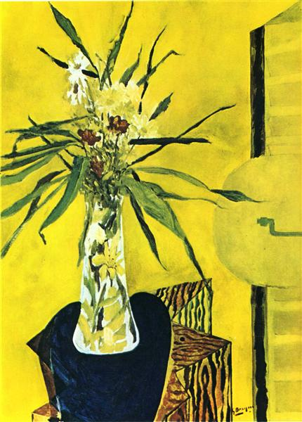 Still life with flowers, 1945 - Georges Braque