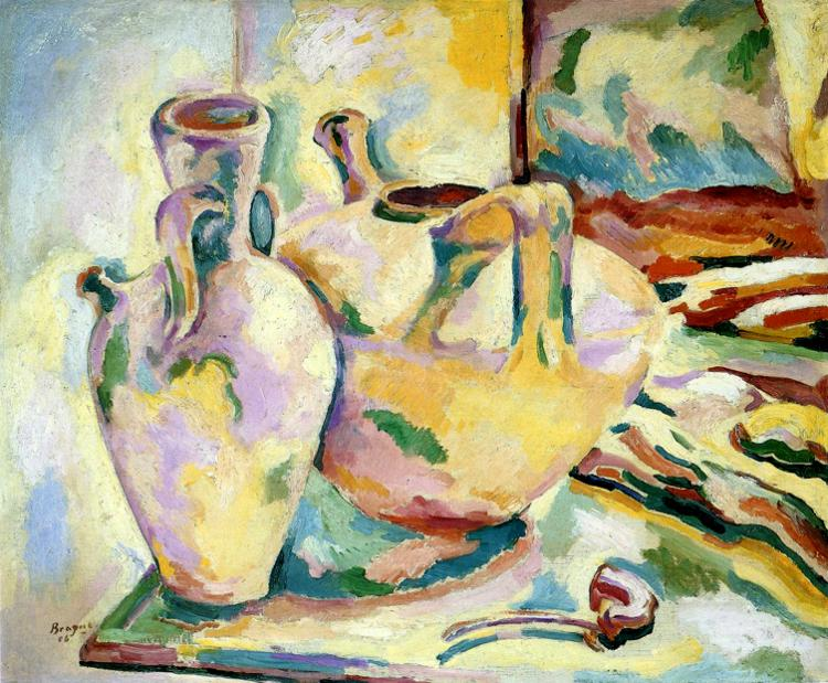 Still Life with Jugs and Pipe, 1906