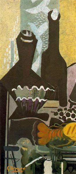 Still life with lobster, 1948 - Georges Braque
