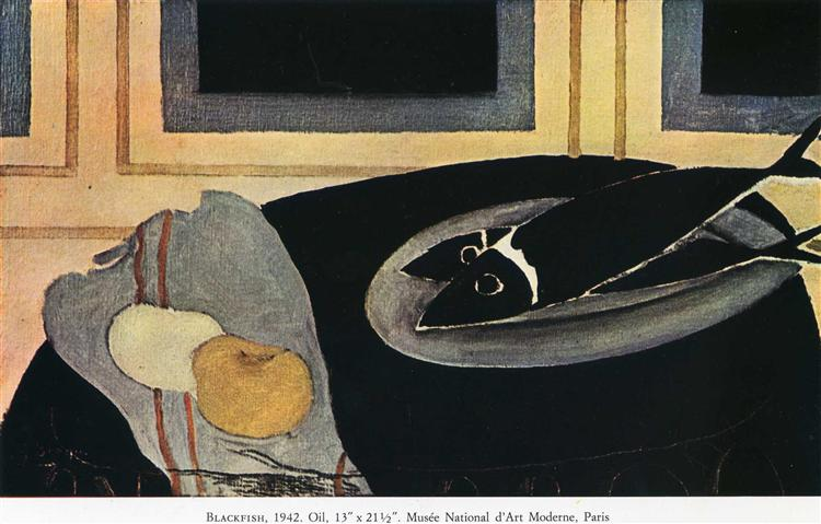 The Black Fish, 1942 - Georges Braque