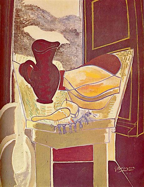 The wash stand, 1942 - Georges Braque