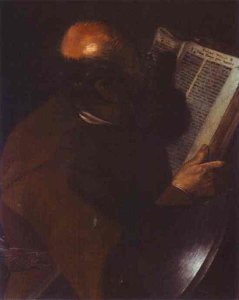 St. Matthew - Жорж де Латур