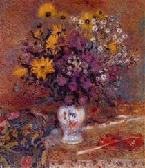 Vase of Flowers - Жорж Леммен
