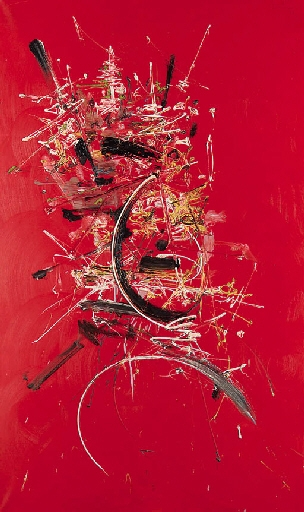 Triomphe rouge, 1961 - Georges Mathieu