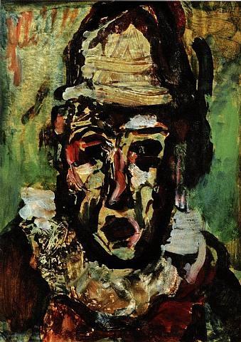 Clown tragique, 1911 - Georges Rouault