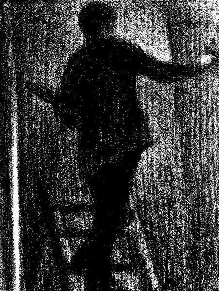 Artist at work, 1884 - Georges Seurat