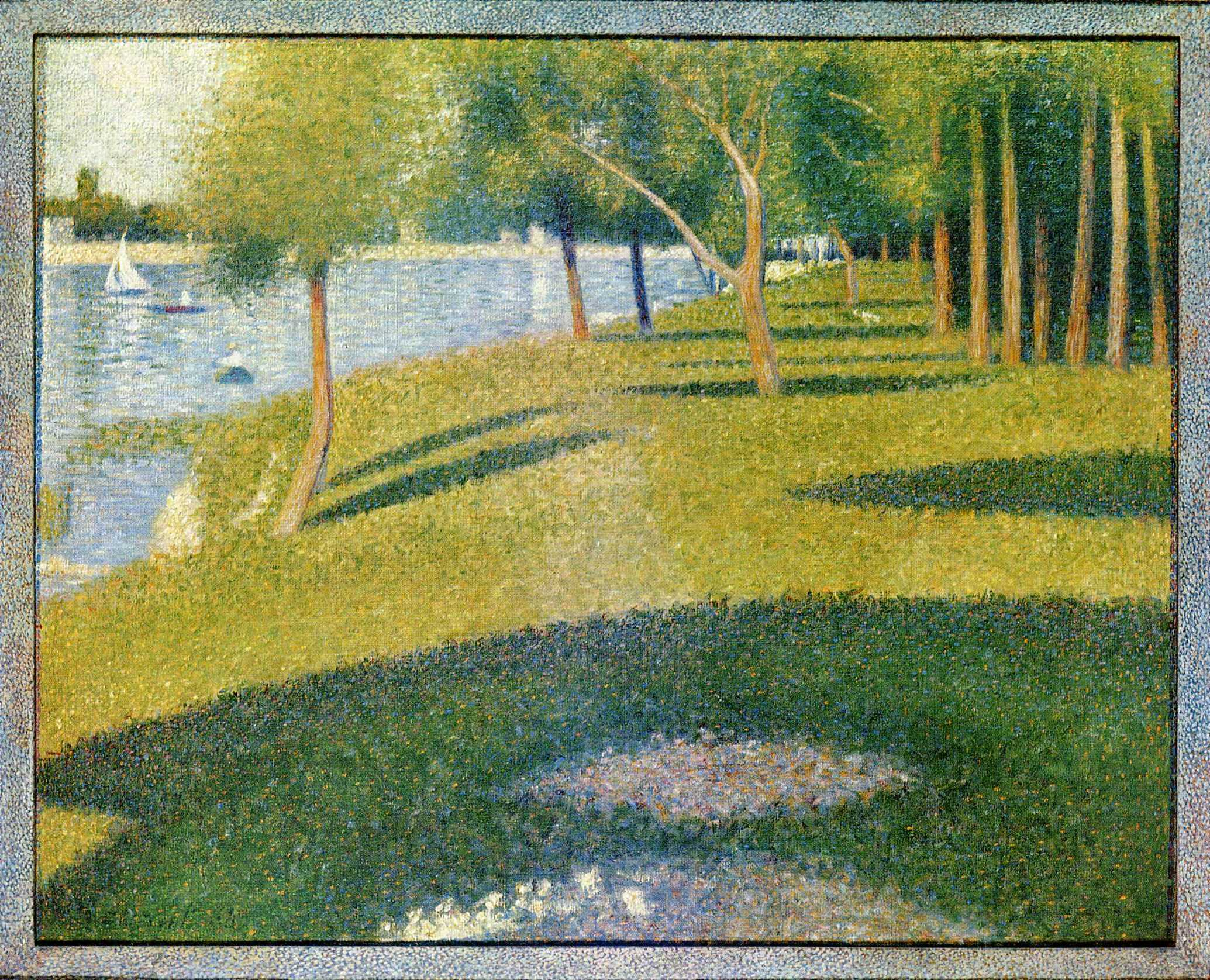 georges seurat Georges seurat: la grande jatte poster find poster reproductions of original works in the museum's collection and other prints at the met store.